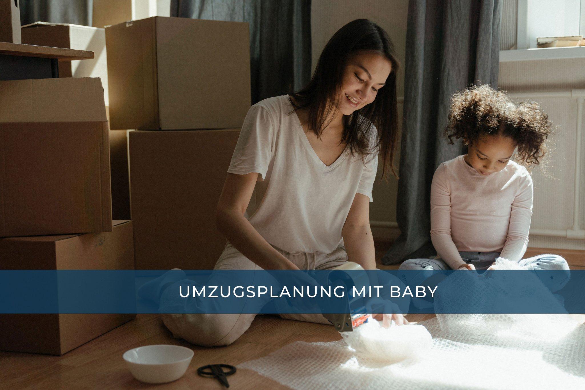 Umziehen mit Baby Photo